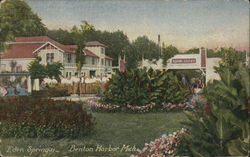 Eden Springs, House of David - Flowers and Shrubbery