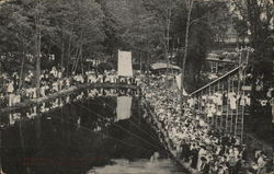 Eden Springs, Large Gathering of People