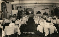 Main Dining Room ~ Grande Vista ~ America's Finest Tourist Court