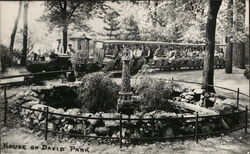 House of David Park - Miniature Train with Passengers