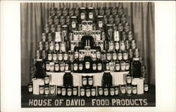 House of David Food Products Display