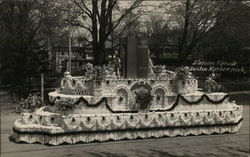 Decorated Float - Blossom Parade, 1935