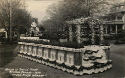 "House of David Float, Blossom Parade ~ 1936 ""Grand Prize Winner"""