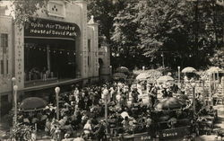 Crowd Watching Show - Open Air Theater, House of David Park