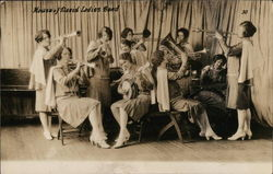 Ladies Band Postcard