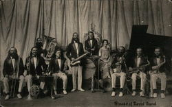 House of David Band Postcard