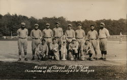 1928 Ball Team Champions of Berrier County & S. W. Michigan