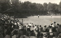 1944 Baseball Game Postcard
