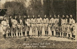 Baseball Team Postcard