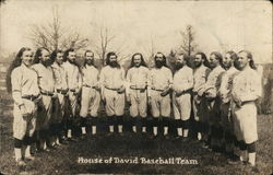 House of David Baseball Team
