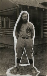 Rare Baseball Player Postcard