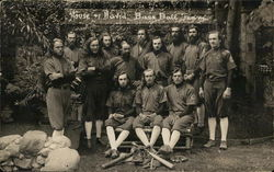 1918 House of David Baseball Team Postcard