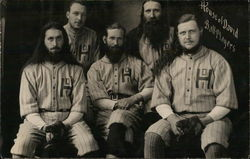 House of David Ball Players Postcard