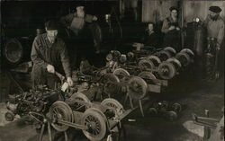A Group of Men in a Machine Shop