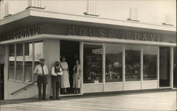 House of David Booth at Century of Progress Postcard
