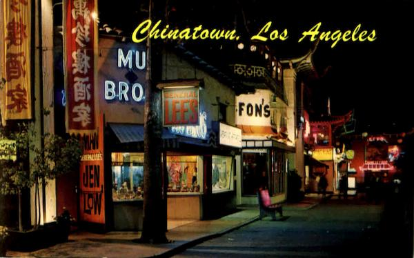 Chinatown Los Angeles California
