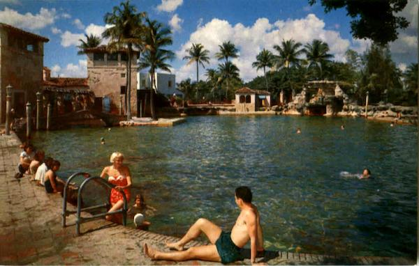 The Famous Venetian Pool In Coral Gables Miami Florida