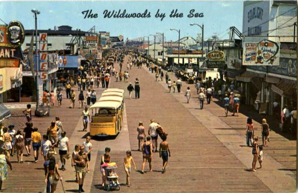 Boardwalk North Of Playland Wildwood By The Sea New Jersey