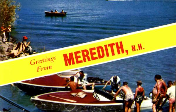 Greetings From Meredith New Hampshire