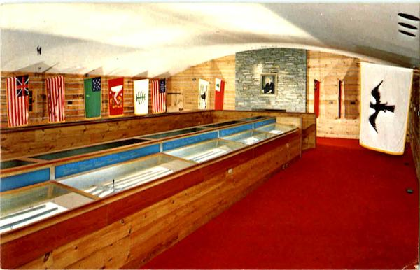 Hall Of Flags, Military Museum at heritage plantation Cape Cod Sandwich Massachusetts