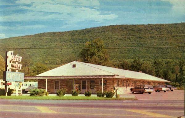 Lock Haven Motel R D 2 Mill Hall Pennsylvania