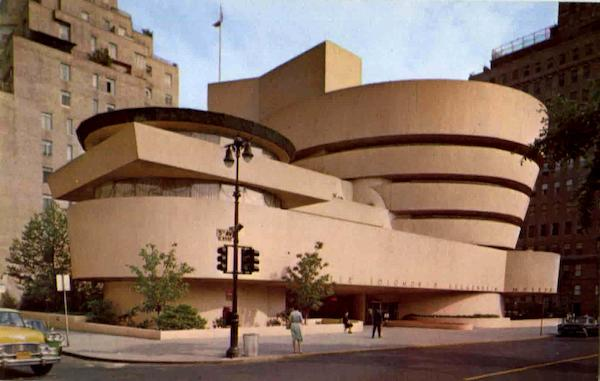 Solomon R. Guggenheim Museum, 5th Avenue 88th to 89th Sts New York City