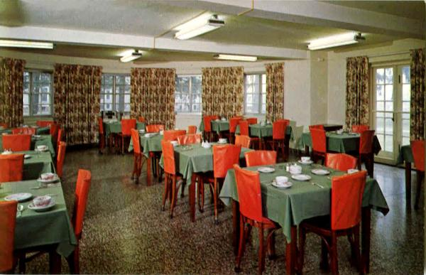 Dining Room In The Infirmary Building Oriskany New York