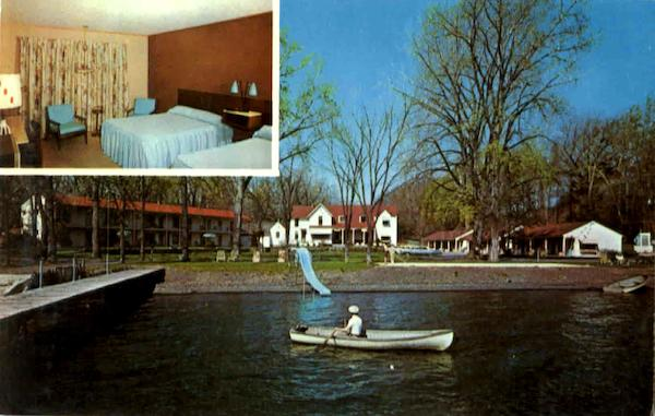 Rainbow Cove Motel Seneca Lake Ny