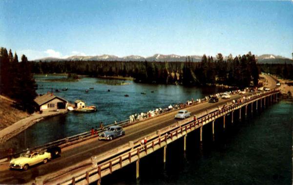 Fishing Bridge In Yellowstone National Park, Wyoming, USA