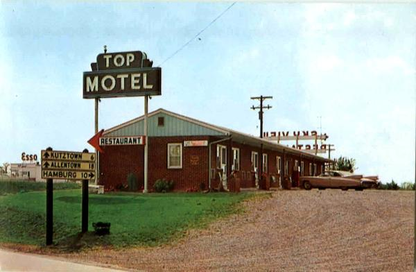 Top Motel Krumsville Pennsylvania