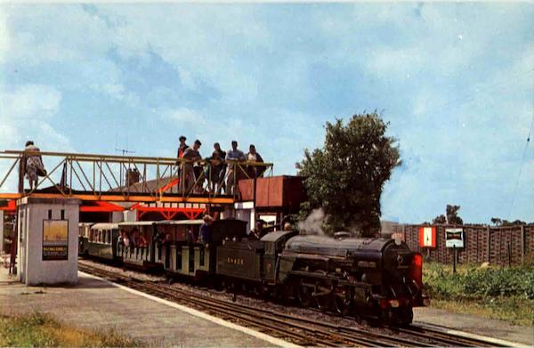 The Romney Hythe And Dymchurch Railway Trains, Railroad