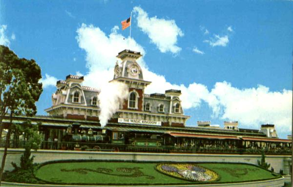 The Walt Disney World R.R Trains, Railroad