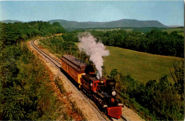The General Rides Again In Shenandoah Valley Trains, Railroad
