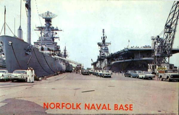 Norfolk Naval Base Virginia Boats, Ships
