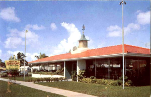 Howard Johnson's Landmark For Hungry Americans Restaurants