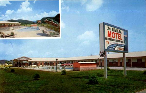 The Riviera Motel Pigeon Forge Tennessee