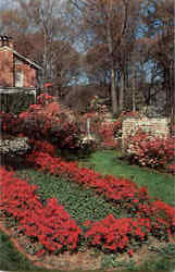 Formal Garden In Mobile During Azalea Time