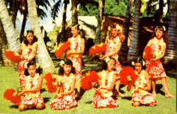 Young Hawaiian Entertainers