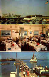 Capt. Starn's Restaurant And Boating Center Postcard