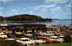 Municipal Pier And Frenchman's Bay, Bar Harbor