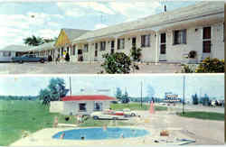 Fawn Motel And Restaurant Postcard