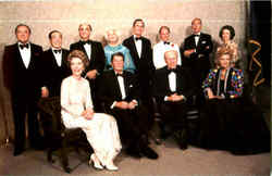 President Ronald Reagan and Guests