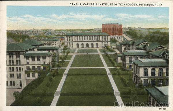Campus, Carnegie Institute of Technology Pittsburgh Pennsylvania