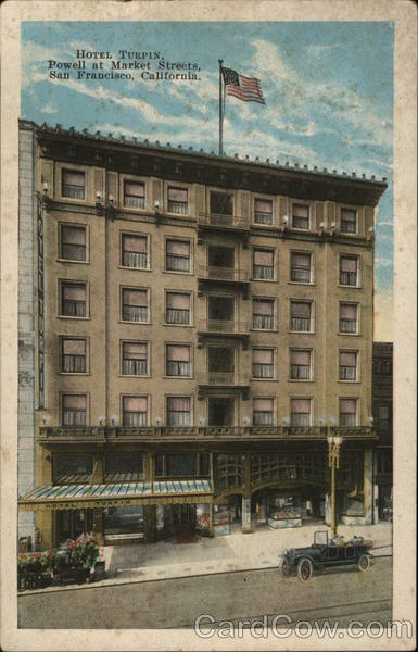 Hotel Turpin San Francisco California
