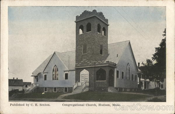Congregational Church Hudson Massachusetts