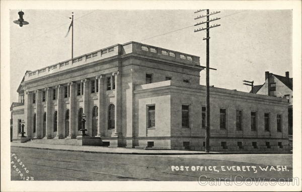 Post Office Everett Washington