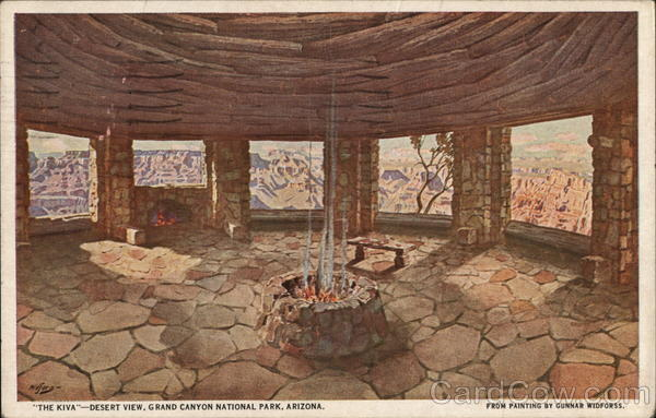 The Kiva-Desert View, Grand Canyon National Park Arizona