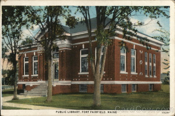 Public Library Fort Fairfield Maine