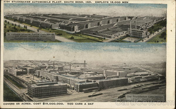 Studebaker Automobile Plant South Bend Indiana
