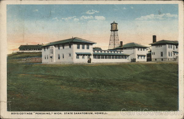 Boys Cottage Pershing Mich. State Sanatorium Howell Michigan
